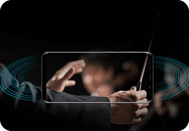 Samsung Galaxy S9 (G960) - głośniki stereo