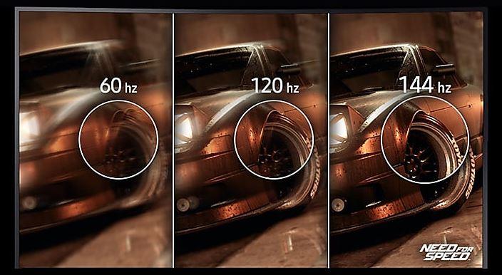 Samsung HG70 Series - Odświeżanie