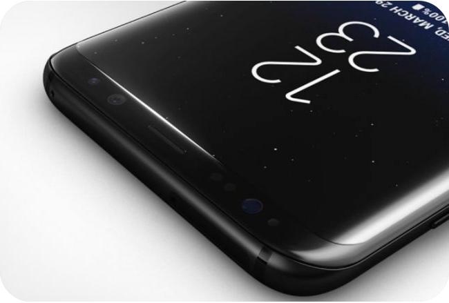 Samsung Galaxy S8 - zakrzywiony ekran