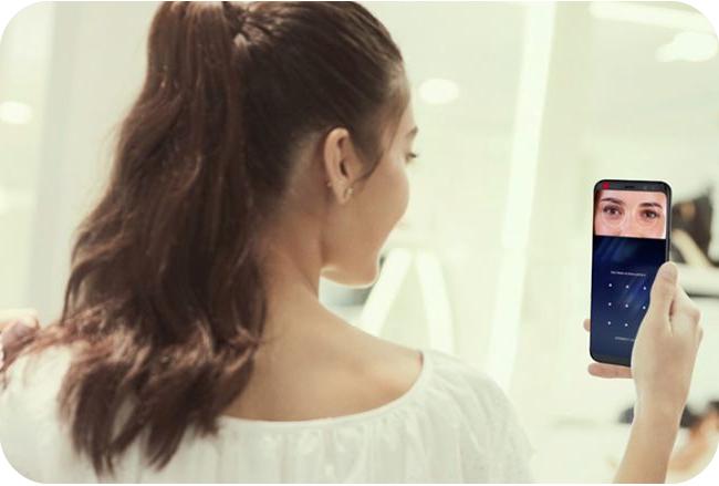 Samsung Galaxy S8 wyposażono w skaner tęczówki oka