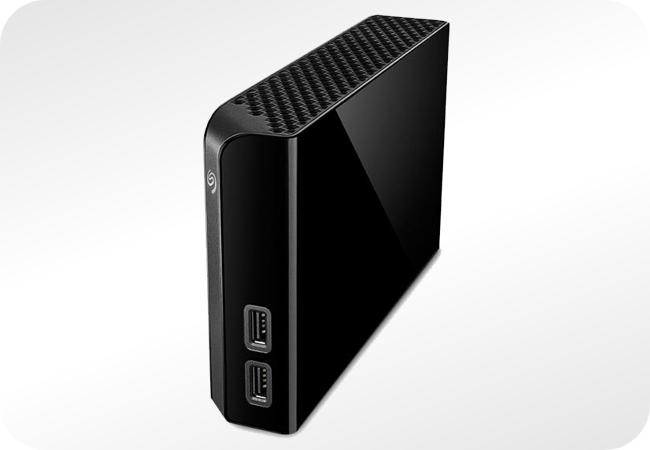 Seagate Backup Plus Hub Desk - wygląd z przodu