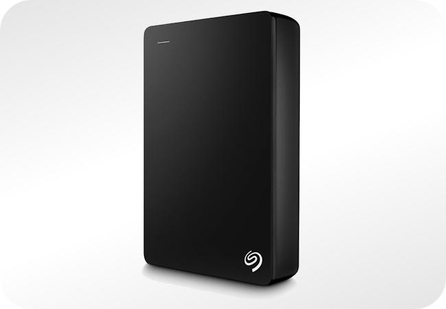 Seagate Backup Plus Portable - wygląd z przodu