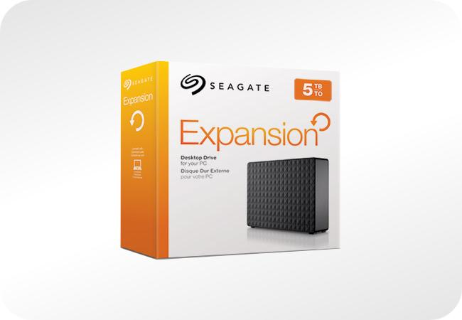 Seagate Expansion Desktop - opakowanie