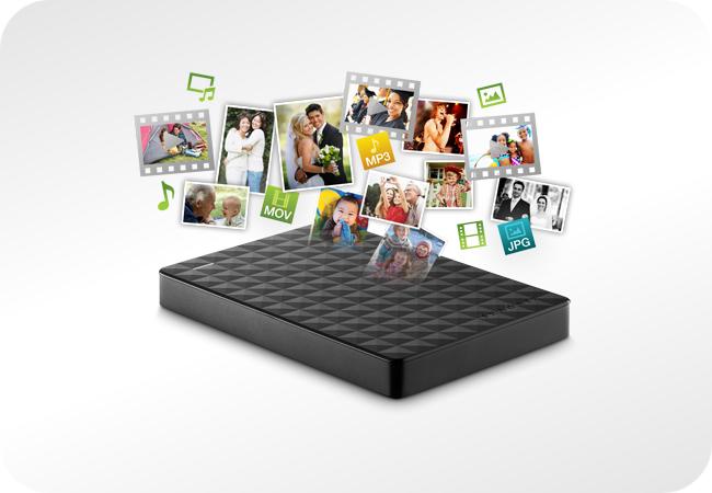 Seagate Expansion Portable - do przechowywania najważniejszych dla Ciebie plików