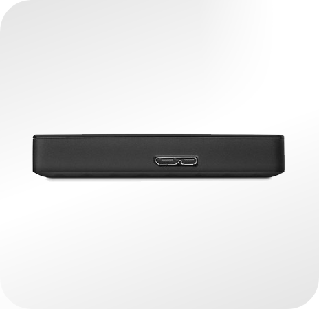 Seagate Expansion Portable - wejście na kabel USB