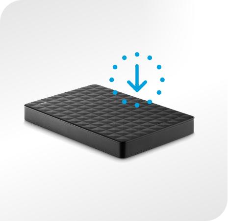 Seagate Expansion Portable - prostota obsługi