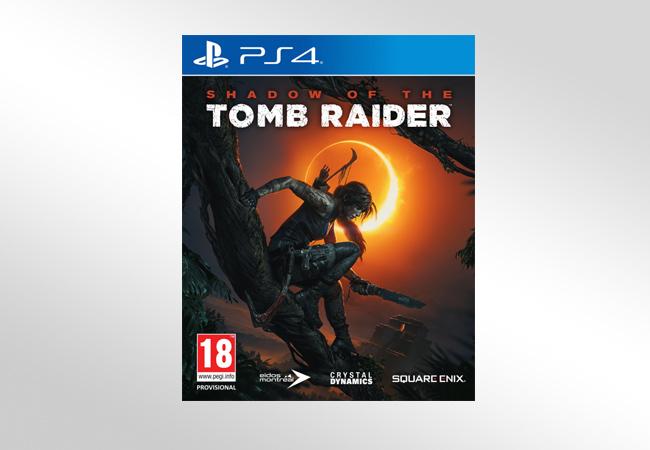 Shadow of Tomb Raider - okładka