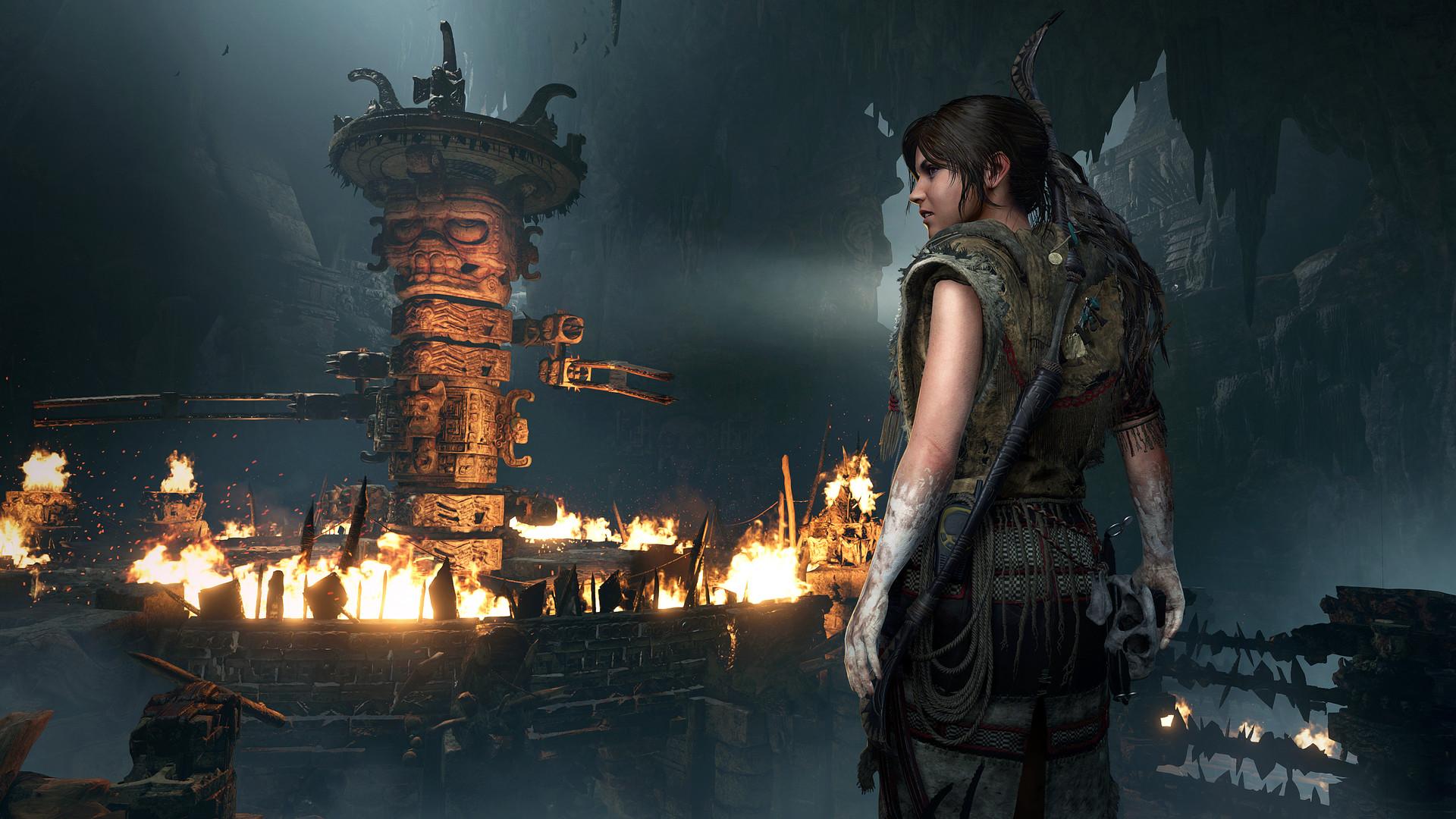 Shadow of Tomb Raider - jedna z lokacji