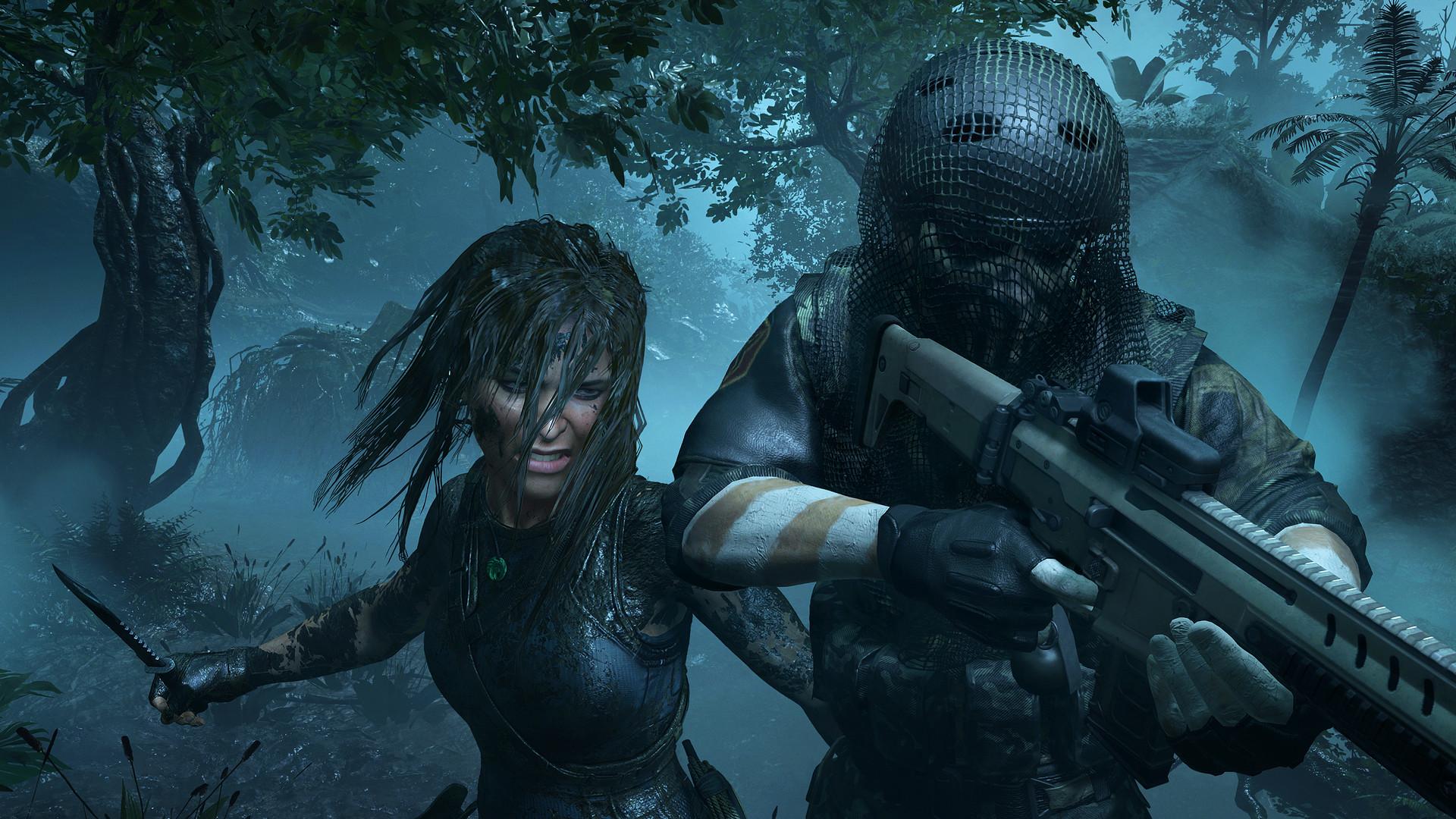 Shadow of Tomb Raider - walka