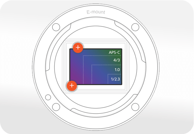 Sony Alpha ILCE-6000 - Zaawansowana matryca