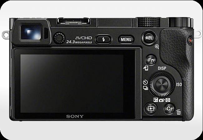 Sony Alpha ILCE-6000 - Ulepszony wizjer