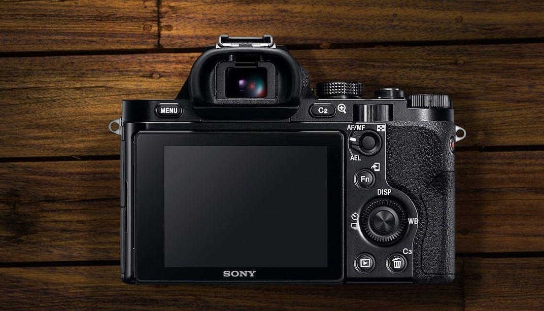 Sony Alpha ILCE-7 - Wizjer
