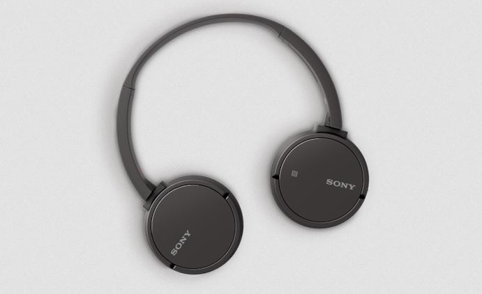 Sony WHCH500 - Lekka konstrukcja