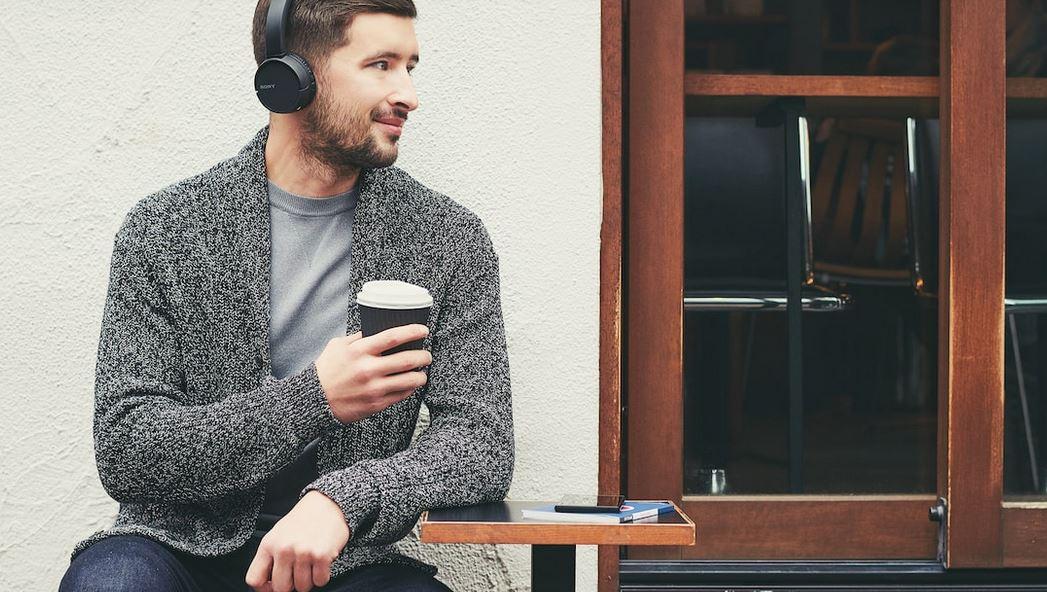 Sony WHCH500 - Parowanie słuchawek