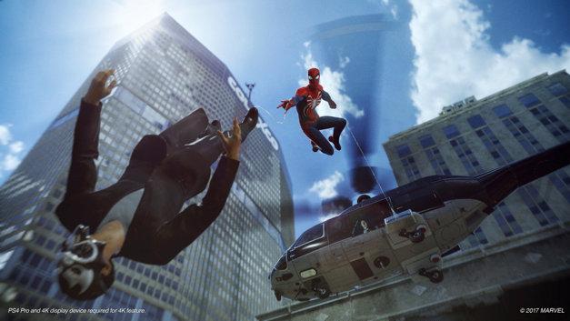 Spider-Man - zrzut ekranu