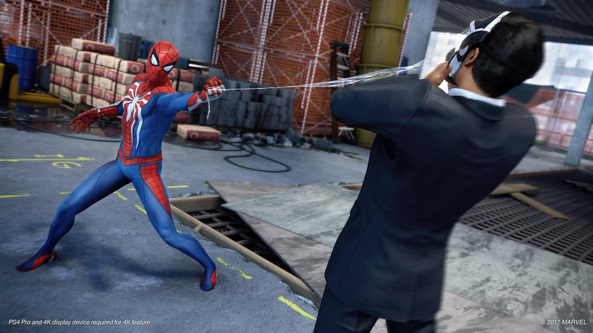 Spider-Man - walka