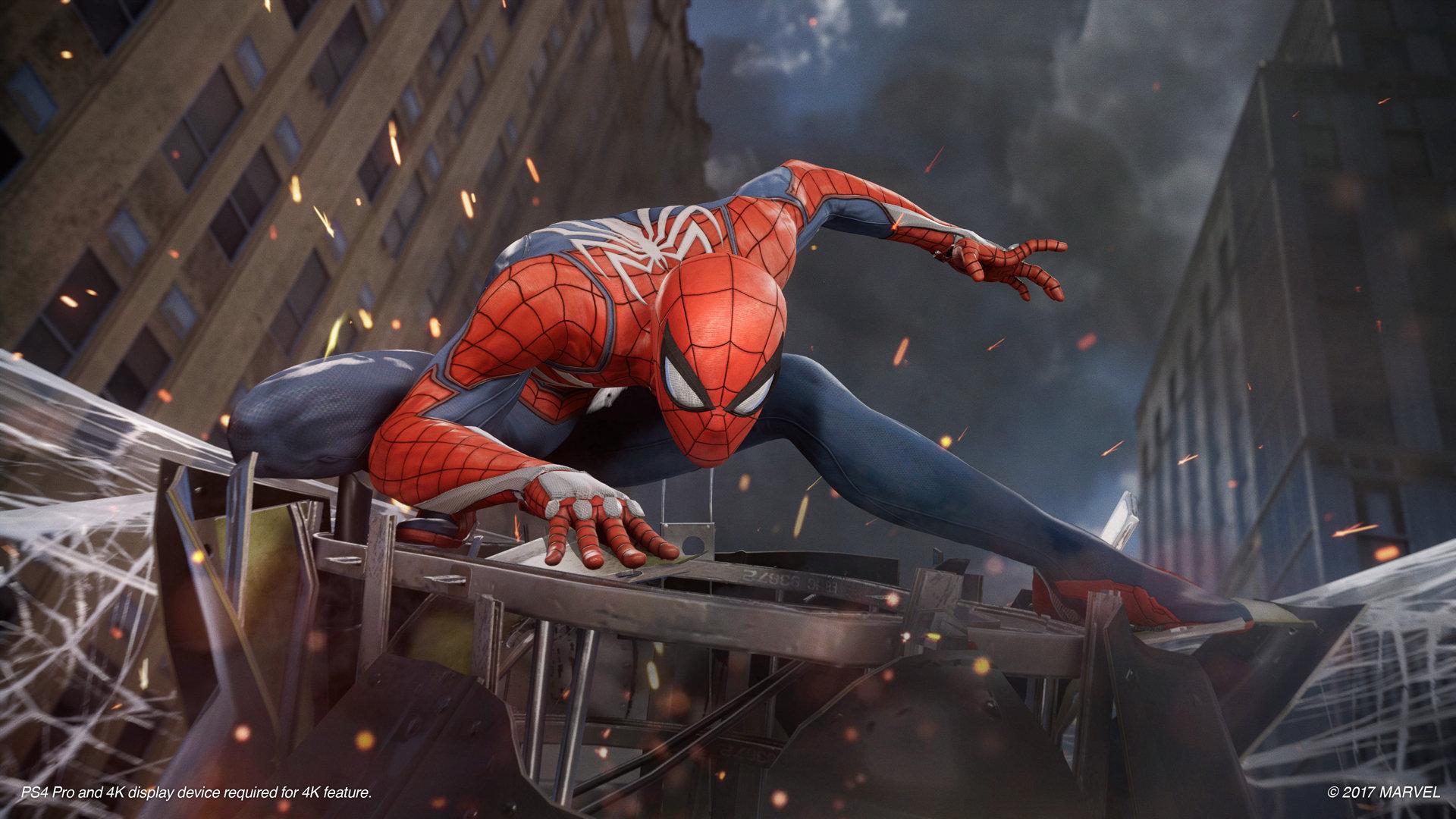Spider-Man - oprawa graficzna