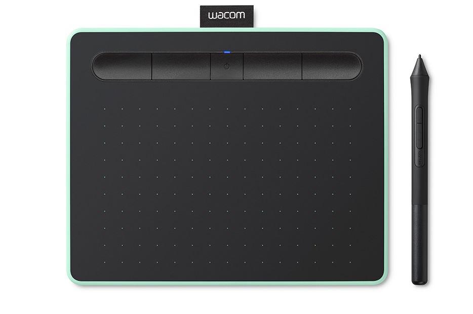 Wacom Intuos S Bluetooth - Piórko w zestawie