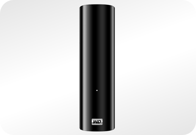 WD Elements Desktop - widok z przodu