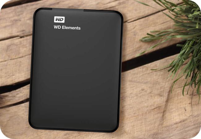 WD Elements Portable - kompaktowa konstrukcja