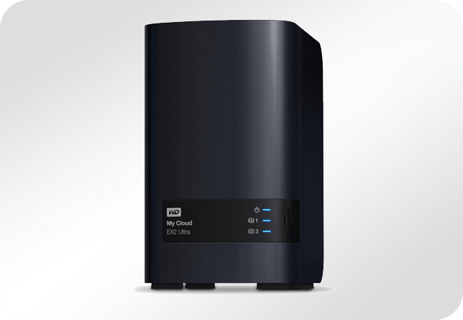 WD My Cloud EX2 Ultra - Front