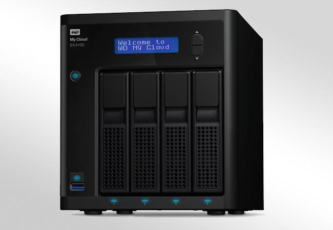 WD My Cloud EX4100 - wygląd