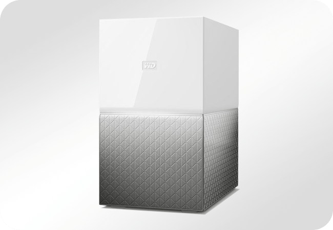 WD My Cloud Home Duo - Front