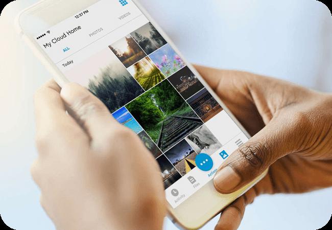 WD My Cloud Home Duo - Zarządzanie z poziomu urządzeń mobilnych