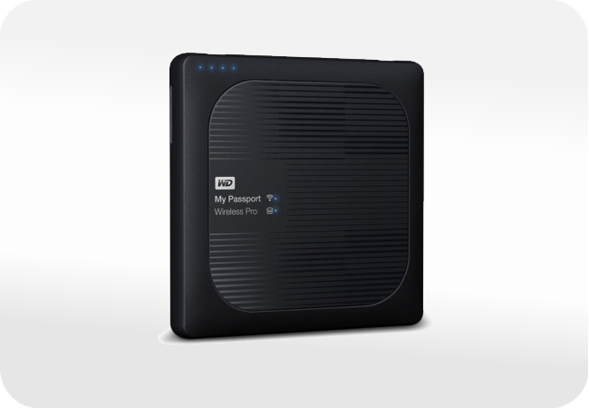WD My Passport Wireless Pro - front