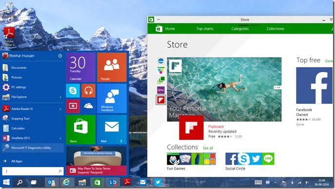 Windows 10 Home - sklep z aplikacjami