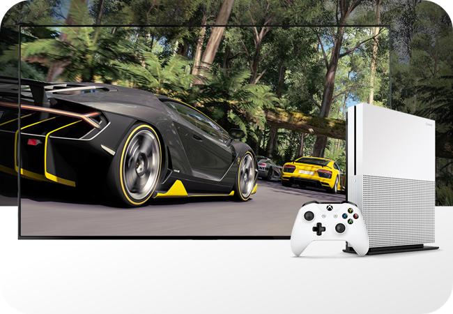 Xbox One S - obraz w jakości 4K
