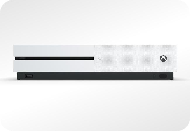 Xbox One S - widok z przodu