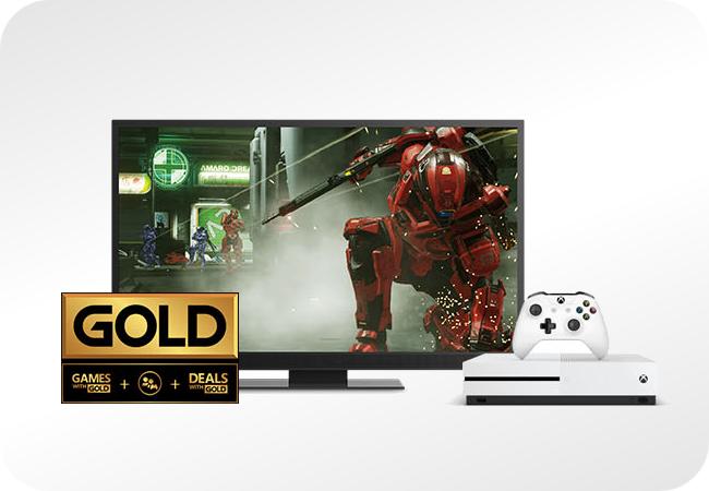Xbox One S - pakiet gold