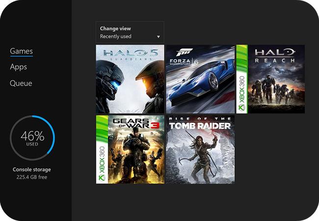 Xbox One S - wsteczna kompatybilność
