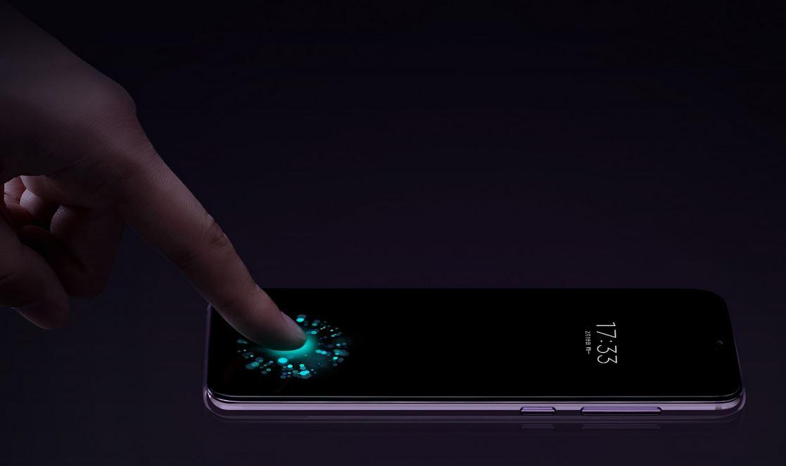 Xiaomi Mi 9 SE - Czytnik linii papilarnych