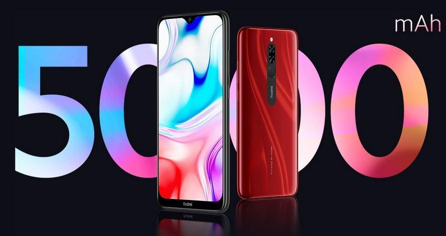 Xiaomi Redmi 8 - Bateria