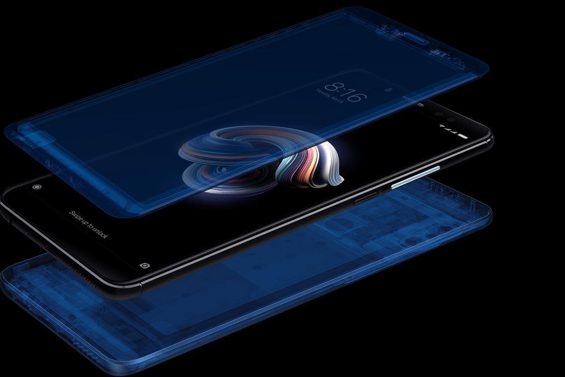 Xiaomi Redmi Note 5 - Konstrukcja