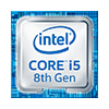 Intel Core i5 8. gen.