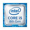 Intel Core i5 8. gen.