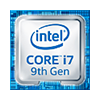 Intel Core i7 9. gen.