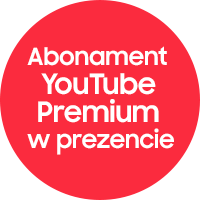 YouTube Premium do wybranych modeli Samsung Galaxy